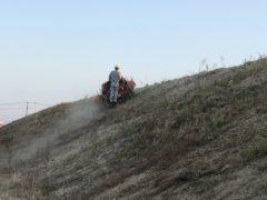 霞(かすみ)にて草刈り作業‼️